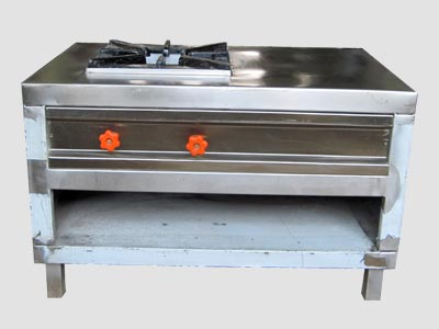 Single Burner Oven With Side Space, Single Burner Oven With Side Space Manufacturer