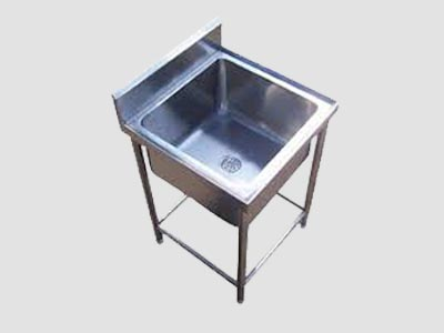 Stainless Steel Single Washing Sink