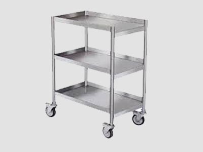 Stainless Steel Spice Trolley